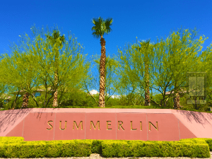 Summerlin Boundary Sign